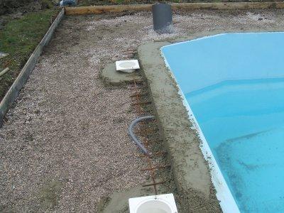 Blog de allanfox page 13 notre projet de piscine for Ceinture beton piscine