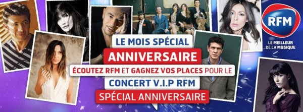@ObispoPascal aux Folies Bergre le 10 Juin prochain pour l'anniversaire de @RFMFRANCE