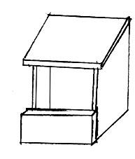 nichoir pour le rouge gorge ce que la terre sera demain nous le d cidons. Black Bedroom Furniture Sets. Home Design Ideas